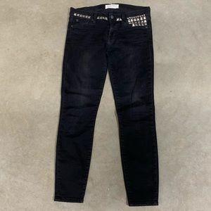 Elizabeth & James Ozzy Studded Black Skinny Jean